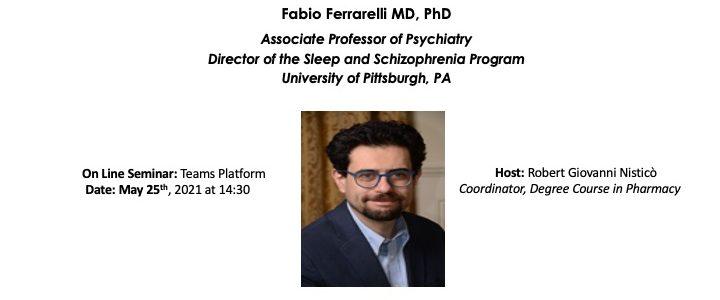 📌 Seminar: Sleep abnormalities in schizophrenia spectrum disorders: main findings and treatment interventions