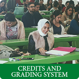 credits and grading system