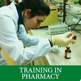 training in pharmacy