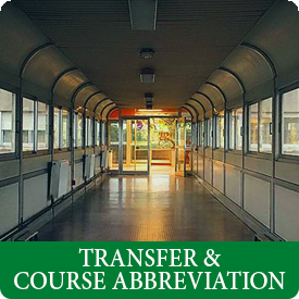 transfer and course abbreviation
